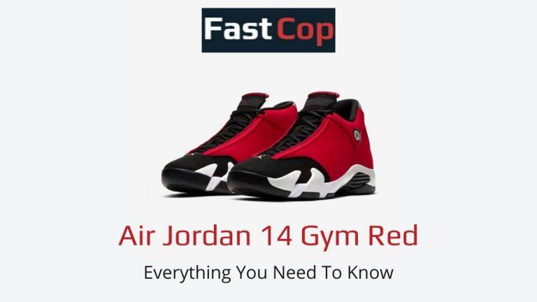 Air Jordan 14 Gym Red