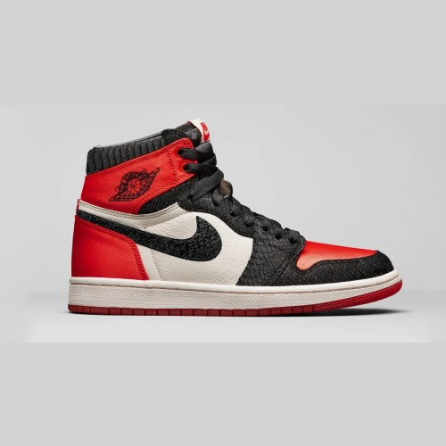 Air Jordan 1 Retro Satin Snake Shoes