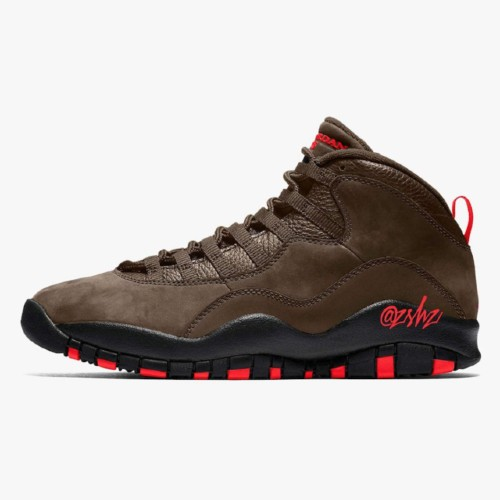 Air Jordan 10 Dark Mocha Shoes