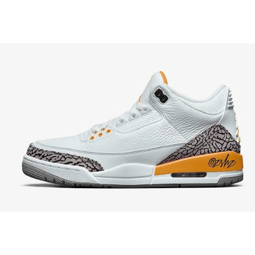 Air Jordan 3 Retro Laser Orange Sneakers