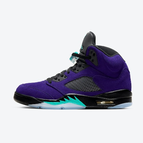 Air Jordan 5 Retro Alternate Grape Sneakers
