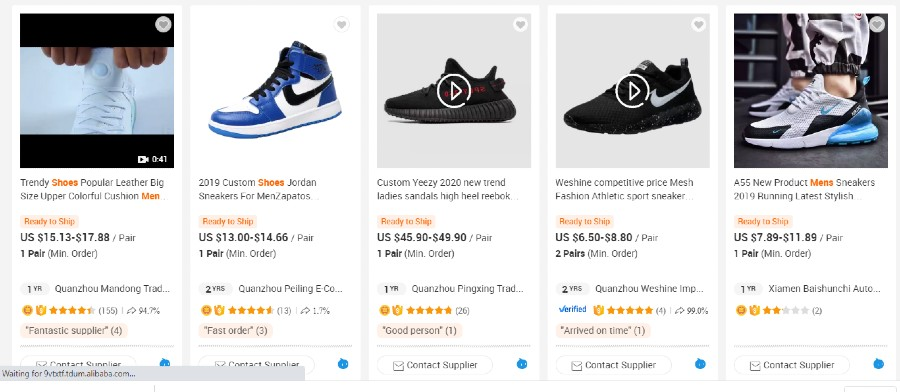 Alibaba Fake Sneakers For Sale