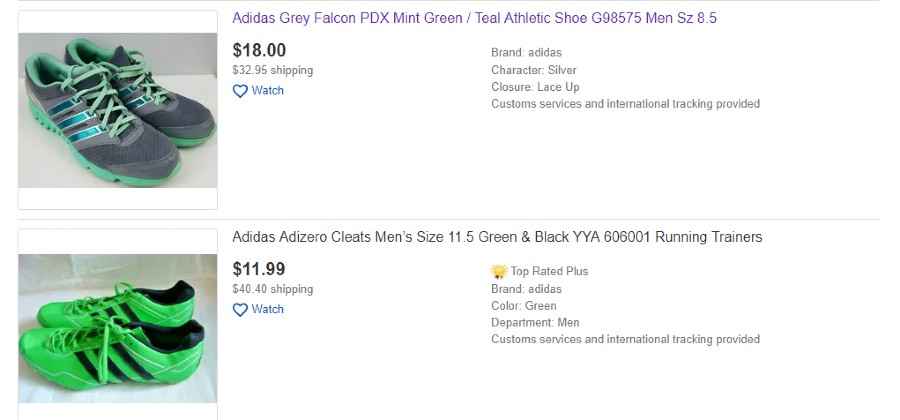 Imitation Adidas Shoes For Sale On Ebay