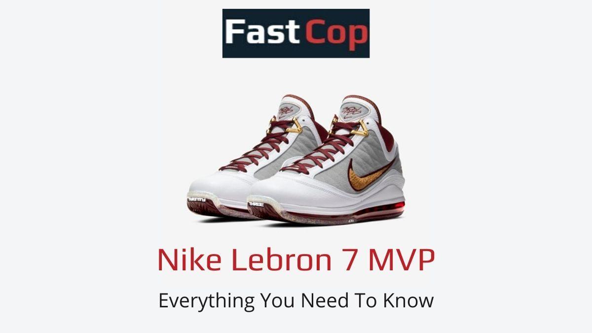 Nike Lebron 7 Mvp Price
