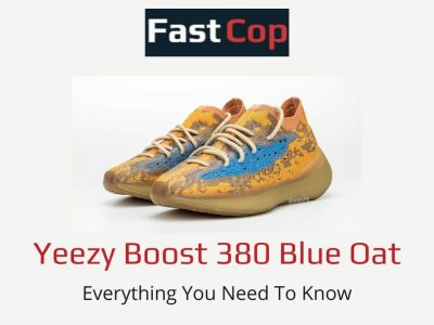 Yeezy Boost 380 Blue Oat