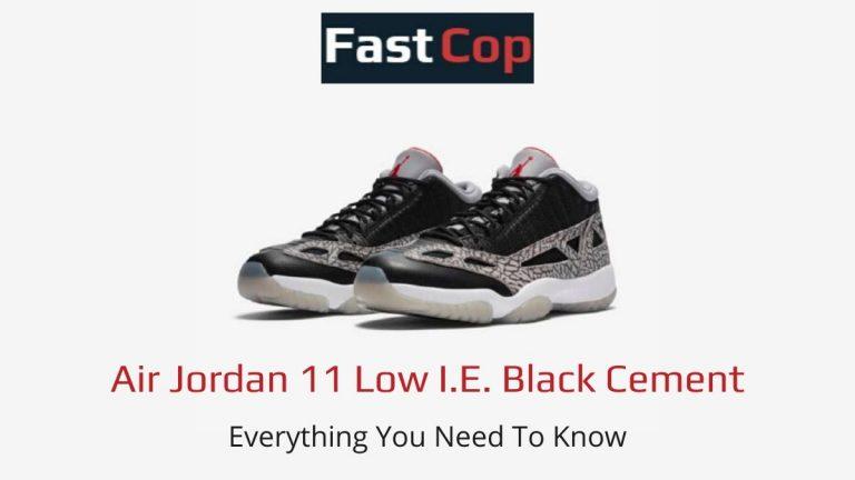 Air Jordan 11 Black Cement