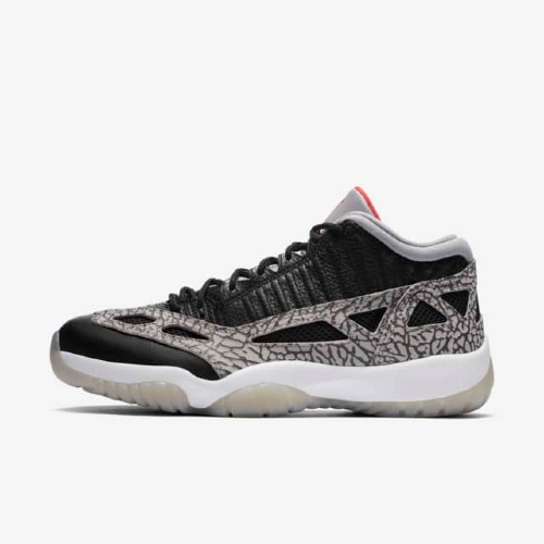 Air Jordan 11 Low Ie Black Cement Sneakers