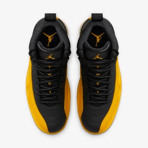 Air Jordan 12 University Gold Shoes Release